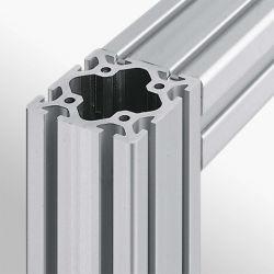 2040 4040 Customized Square Frame Interlocking T Slot V Slotwall Stranggepresstem Aluminium