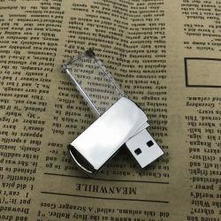 Crystal + Metal unidad Flash USB Pendrive 4GB 8GB 16GB 32 GB 64 GB de almacenamiento EXTERNO 128GB Memory Stick U disco