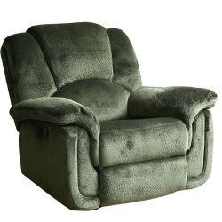 Fabric individual reclinable sofá moderno y elegante mobiliario de Casa Verde sofá reclinable