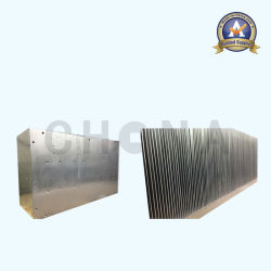 Radiateur métallisé époxy d'aluminium de pouvoir