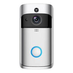 スマートなWiFiの無線視覚防水リングの電話カメラのビデオドアベル