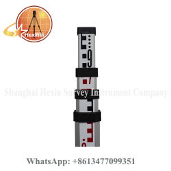 バーコードのスタッフを水平にする熱い販売レーザーの泡Tc015円の管5m 4セクション