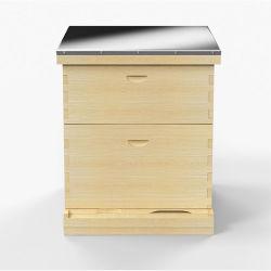 El equipo de apicultura de la colmena de madera con marcos de la colmena de abejas de miel de abeja colmena Langstroth