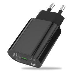Kc сертифицированных один порт USB QC3.0 быстрое зарядное устройство для Samsung S10 Примечание10, iPhone, компания Huawei