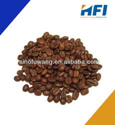 Caliente la venta de granos de café arábica orgánico asado