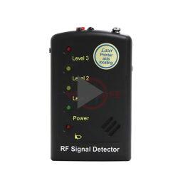 50 MHz ~ 6.0 GHz détecteur de signal RF de poche avec 3 LED et sortie des écouteurs