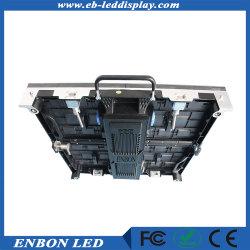 P3.91 alto actualizar el panel de pared LED de interior para el alquiler de etapa 500*500mm (más de 3.840 Hz/s)