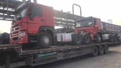 HOWO tractor camión 6X4 usados Carretilla con ruedas de 10