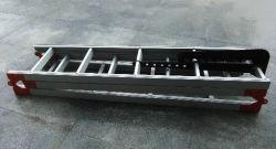 Plegado de aleación de aluminio Escalera de gancho para la lucha contra incendios