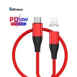 Tongyinhai beweglicher Handy-Kabel-Zubehör-Apple-Aufladeeinheits-Daten-Kabel-Großhandelstyp c-Blitz USB-Kabel-schnelle Ladung für iPhone Vorlage