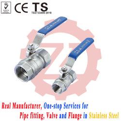 Pn16 20мм 304 316 резьбовые Dn20 шаровой клапан