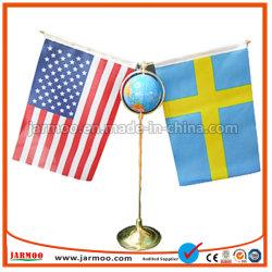 Индивидуальный логотип печать таблицы национального флага флаг стола