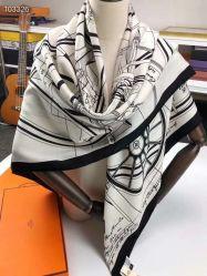 Высокое качество новой моды роскошь реального шелка и кашемира квадратных длинных женских Шарфа