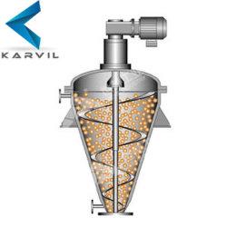 Nouvelle spirale de l'industrie chimique Vertical mélangeur conique de la vis pour les additifs alimentaires en poudre