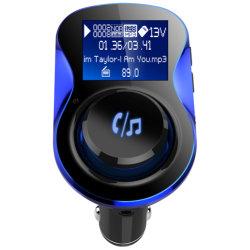 De nieuwe ModelUitrusting van de Auto van BT overhandigt de Vrije Draadloze Speler van de Auto van de Zender van de FM Bc28 MP3 met Dubbele Lader USB