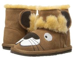 Winter Fashion Cute Lion Animal Cartoon Wool Fur Sneeuw warm Comfortabele laarzen voor kinderen en kinderen