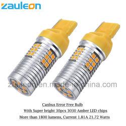 7440 LED jaune orange clignotants pas hyper Flash sans erreur de bus CAN