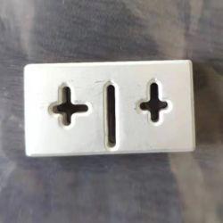 De zilveren Deklaag van het Deeg voor Elektroden Met hoge frekwentie van de Filter van de Microgolf de Ceramische