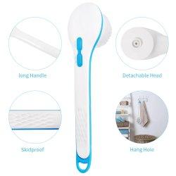 Masaje de cuerpo eléctrico del cepillo de baño ducha eléctrica SPA cuerpo de cepillo cepillo de baño de limpieza de alimentación directa de fábrica