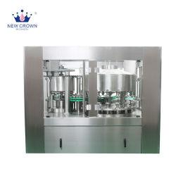 Faible capacité de jus d'eau Boisson gazeuse Canning Machine 12 chefs d'aluminium peut