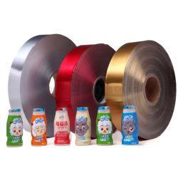 Jus d'impression personnalisé/lait thé/café boire Rouleau de film d'étanchéité en plastique pour le film d'emballage