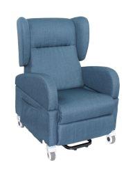 D'air électrique de puissance de chauffe le Cuir microfibre fauteuil de massage de levage d'inclinaison