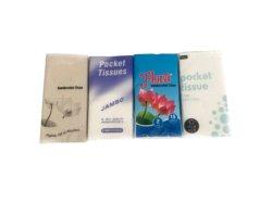 Premium Super suave tejido tejido pañuelos de bolsillo