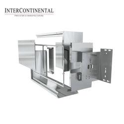 Kundenspezifische Präzisions-Blech-Fertigung, Stahlmetallentwurf, Laser-Ausschnitt, Schweißen, polierend, Puder-Beschichtung-Service