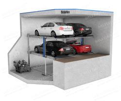 2 parques de estacionamento do sistema de elevação 2 Carros Stack Parkers