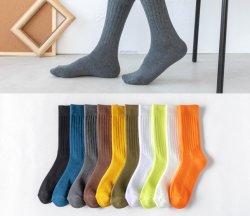 Baumwolle Terry der Männer trifft Herbst-und Winter-starke Tuch-Socken hart