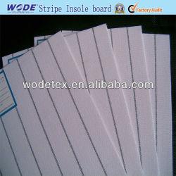 Scheda bianca di Caldo-Vendita e grigia respirabile del sottopiede della banda con buona fibra per il sottopiede del pattino