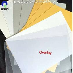 300 Plastic Blad van Geschikt om gedrukt te worden pvc van /Golden/ Zilveren A4 Inkjet van het micron het Transparante Witte