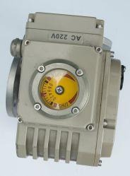 4-20mA 3 formas de controle elétrico pneumático de Fluxo da Válvula de Esfera de Flutuação