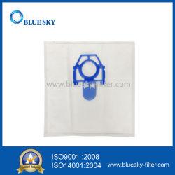 ZelmerのオデュッセイアZvca100b 49.4000の掃除機のための白いNonwovenブルーカラーの塵のフィルター・バッグ
