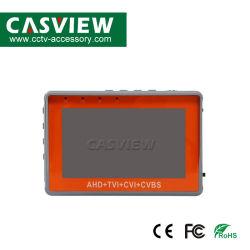 Testeur de bracelet de 4,3 pouces CCTV Testeur de 1080P Caméra Portable Ahd Tvi ICB Testeur CVBS TFT LCD Testeur de vidéo analogique 12V de puissance de sortie