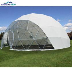 PVC bianco della grande tenda della cupola geodetica per il partito di evento