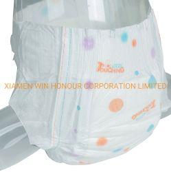 高い吸収の柔らかく、通気性の超薄く使い捨て可能な赤ん坊のおむつ
