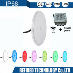 Le contrôle WiFi par de gros56 rempli de résine Ampoule de LED lampe sous-marin