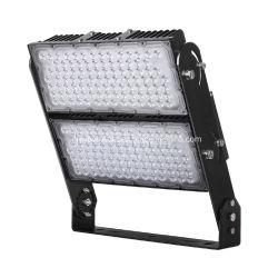 IP66 Ik08の非対称的なビーム角調節可能なブラケット600W屋外LEDのフラッドライト