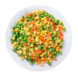 Salade de maïs sucré carotte Pois vert Le petit déjeuner légumes mélangés surgelés certifié