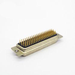 Mechined 고밀도 남성 D-SUB VGA 똑바른 마운트 유형 104 핀 커넥터