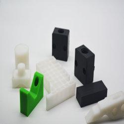 Hersteller kundenspezifischer Blatt-Technik-Plastiknylon POM HDPE UHMWPE Mc PA66 schwarzer Sporn-Gang