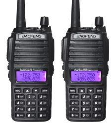 Accepter OEM et ODM Nouveau Baofeng BF-UV82 à double bande VHF-UHF Radio bidirectionnelle