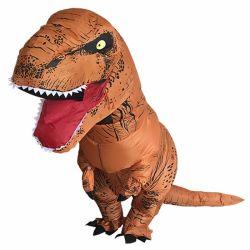 12 Roupa de dinossauro insufláveis