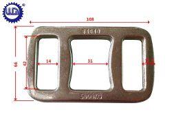 金属材料成形アイボタンストラップ包装用バックル