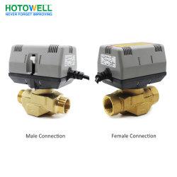 Forma de 2/3 de la serie de Honeywell Vc actuador eléctrico motorizado de latón de válvula de compuerta de control de la zona
