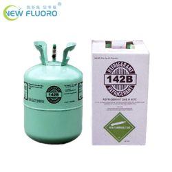 het Gas van het Koelmiddel 13.6kg R142b van 99.8% voor Systeem het Op hoge temperatuur van de Koeling