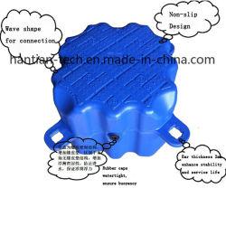 Dique flotante de plástico de HDPE pontón flotante cubo