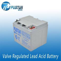 SLA Deep-Cycle batterie gel utilisé pour l'Énergie Solaire système 12V longue durée de vie 43.3ah