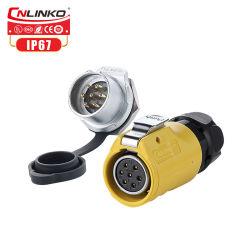 Connettori elettrici del multi collegare/connettore di plastica Jack di CC del foro Plug/12V per illuminazione/comitato/visualizzazione/schermo del LED